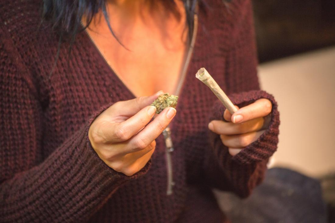 fumare cannabis